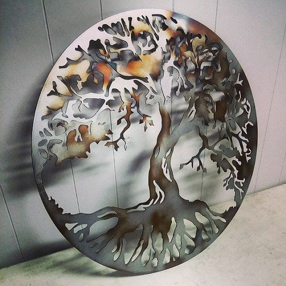 Tree Of Life Metal Wall Art by MissMetalWorx on Etsy, $40.00