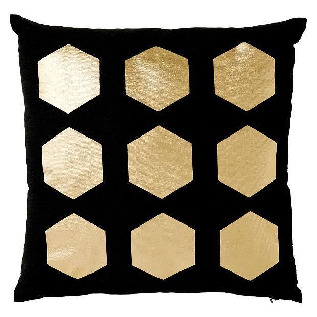 Gold Foil Hexagon Print | Target Australia