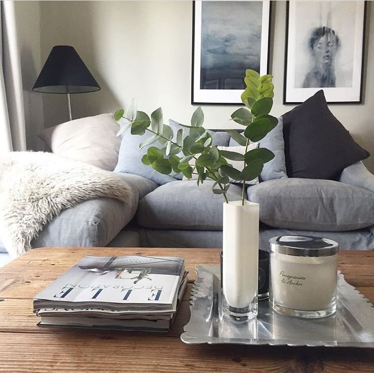 Lovely living area! Thanks for this brill snap of your Oscar chaise sofa, Natalie.