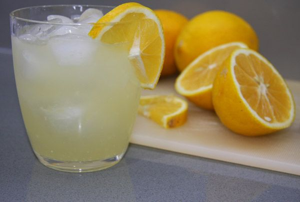 Nothing better than a cold homemade Lemonade on a hot summer day!