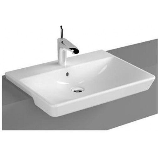 T4 Semi-Recessed Basin 60cm 1TH