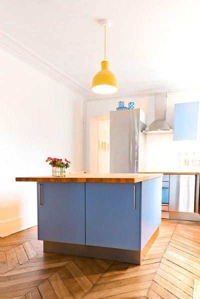 40 best cuisine ouverte images on pinterest home for Cuisine ikea gloss