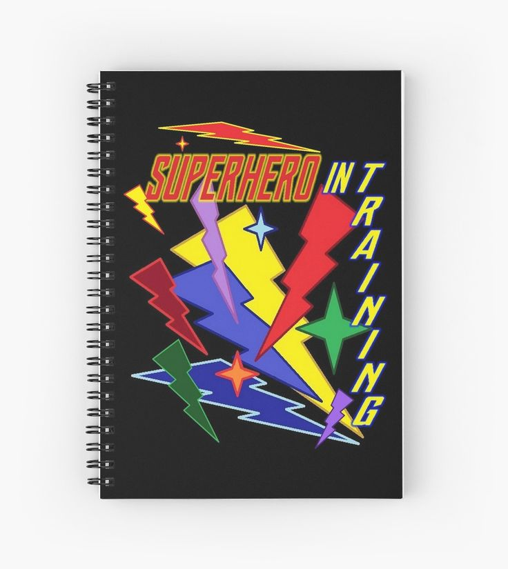 Superhero In Training l Hardcover Journal Also Available