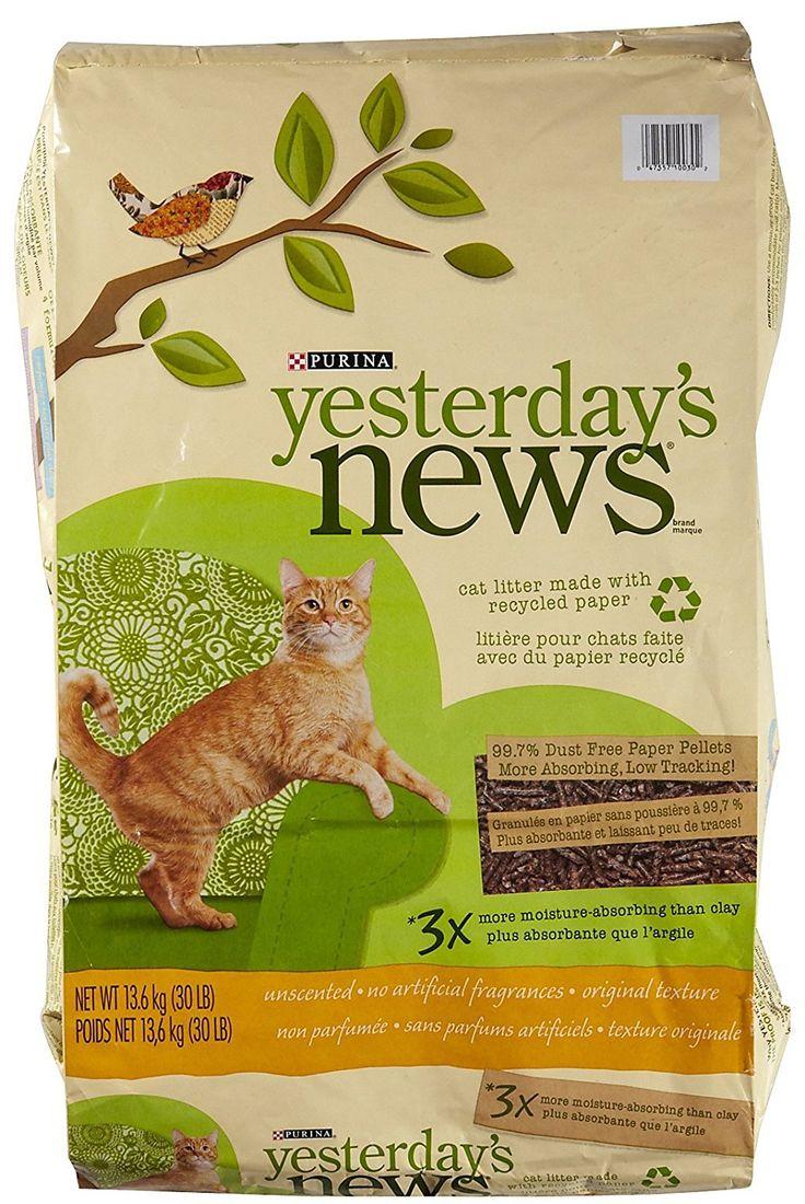 Yesterday's News Original Cat Litter Unscented 30 lb