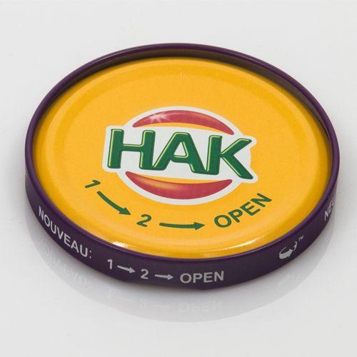 1-2 open-deksels van Hak zijn geschikt voor hergebruik. Tip van Hak: zet ze nog een tijd in de koelkast nadat ze op hun kop hebben gestaan. Laat ze daar afkoelen. Zo trekken ze goed vacuüm. Bron: Wim Boers op FB.