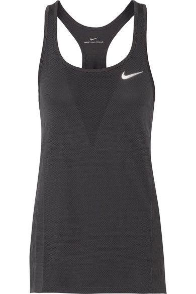 Nike - Zonal Relay Dri-fit Mesh Tank - Anthracite - x large