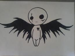 i re drew this with charcol it looks good :)