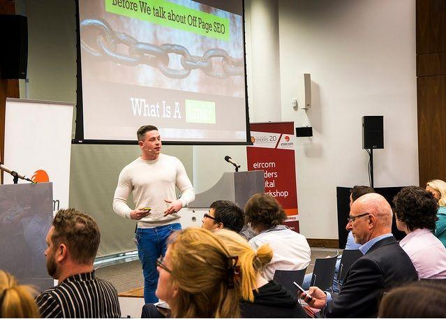 Eircom Spiders Digital Workshop - Guest Speaker Sean Leamy https://www.madinks.ie