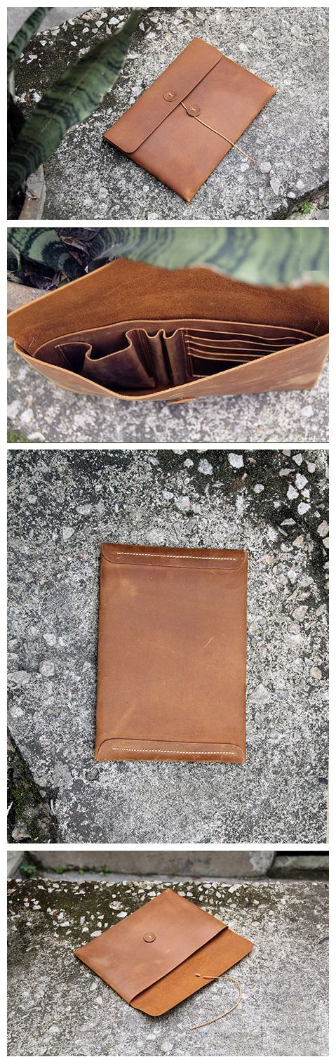 Fashion Envelope Clutch Purse Leather Wallet iPhone Case ipad Sleeve AK03 Overview: Design: Fashion Men Envelope Clutch In Stock: 2-3 days For Making Include: Only Envelope Clutch Custom: No Color: Br