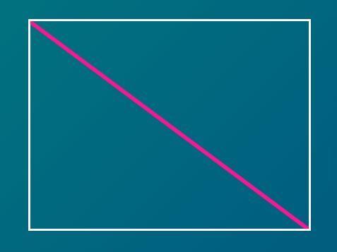 Draw A Diagonal Line Through A Box - jQuery diagonal js