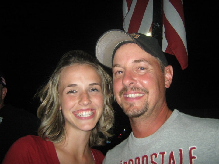 Eric and daughter,Brittany Willis