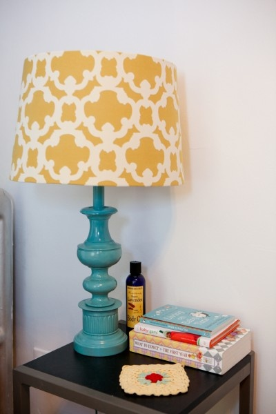 Buy a Cheap wooden Lamp Base from Sheet Street or Mr. Price and SPRAY PAINT!! just get a cool Lamp Shade to go with it.