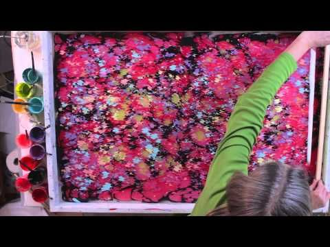 Marbling acrylic onto paper or cloth to create beautiful patterns is an art form with a rich history. After learning the basic steps, even an absolute beginn...