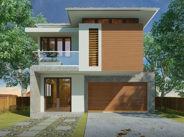 Bluegem home nice design home display homes villa for Single storey duplex designs