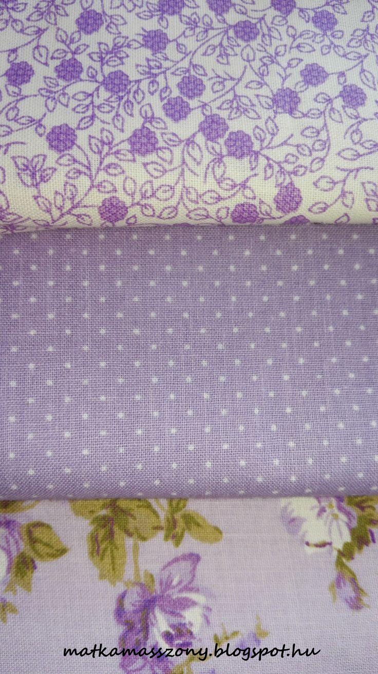 Levendulás textíliák Landerer textil