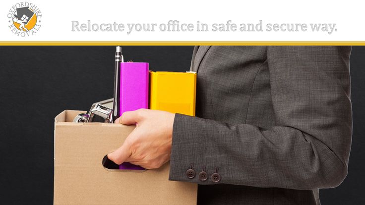 Relocate your Office in safe and secure way. Oxford Oxfordshire