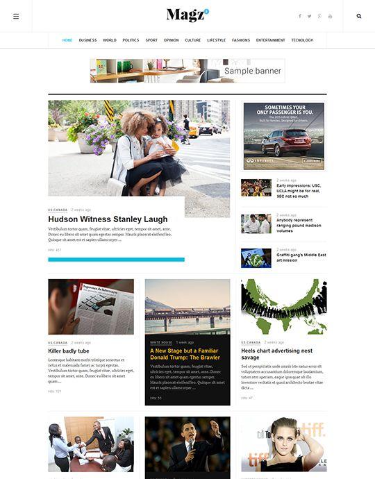 JA Magz II - Responsive Joomla template for News and Magazine | Joomla Templates and Extensions Provider