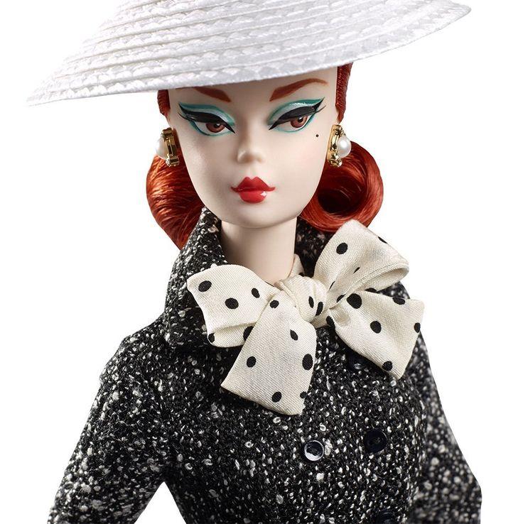 Mattel Barbie DWF54 Barbie Collector Fashion Model Puppe Handtasche Schwarz/Weiß | eBay
