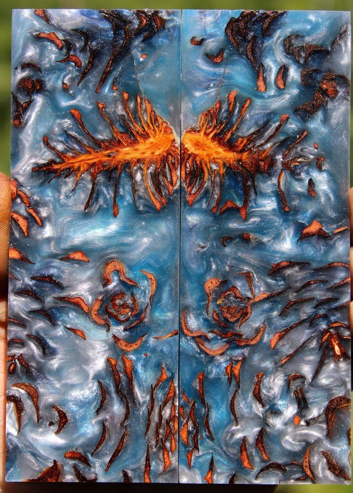 Cast Wood Art : Images about cast resin hybrid wood blanks on