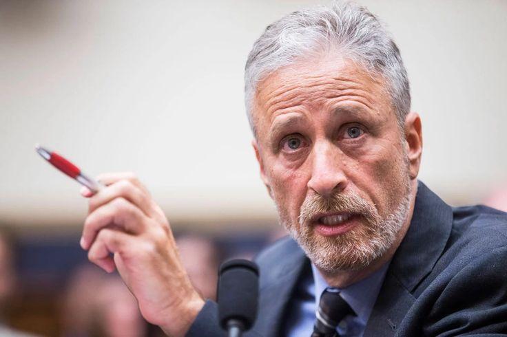 Jon Stewart Tees Off on Rand Paul for Blocking 9/11 Victim Bill
