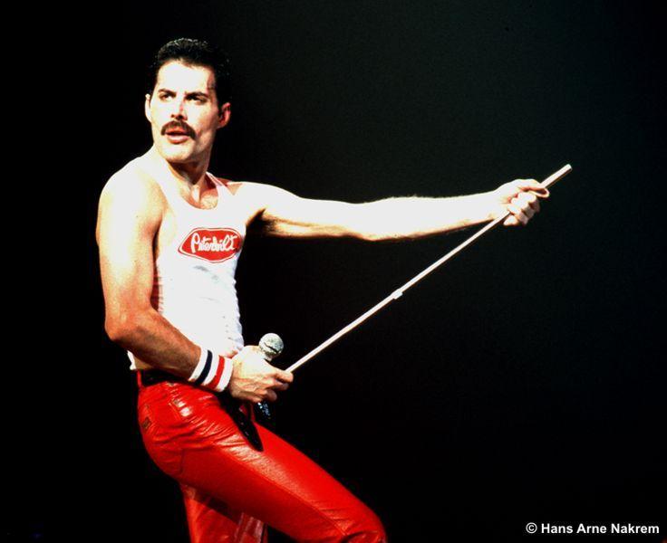 Queen's front man Freddie Mercury