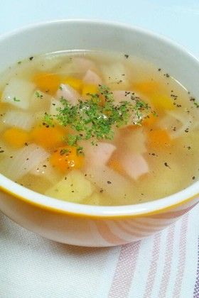 具沢山も!簡単❤和洋折衷の野菜スープ by かもめーず0516 ...