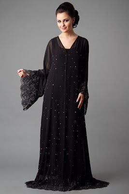 Designer Embroidered Abaya Collection 2013-2014 | New Abaya Collection