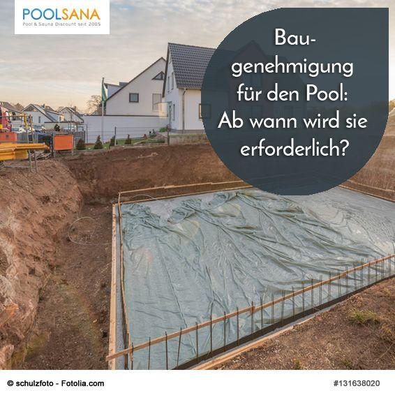 Baugenehmigung Fur Den Pool Ab Wann Wird Sie Erforderlich Baugenehmigung Poolbau Bau