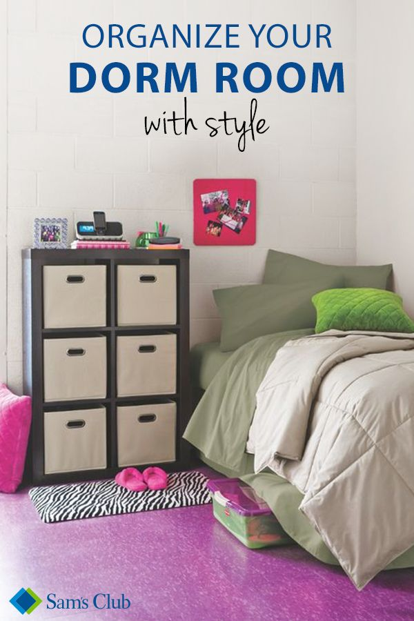 How To Get Your College Dorm Room Organized From Your Desk Bed Shelving To Bin Organizers Helpful Tips To Create The Perfect Organized Dorm Room