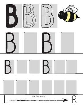 Uppercase Handwriting Pages- Mister Smith Learning (double sided) These are great for introducing proper letter formation plus coloring and cutting skills.