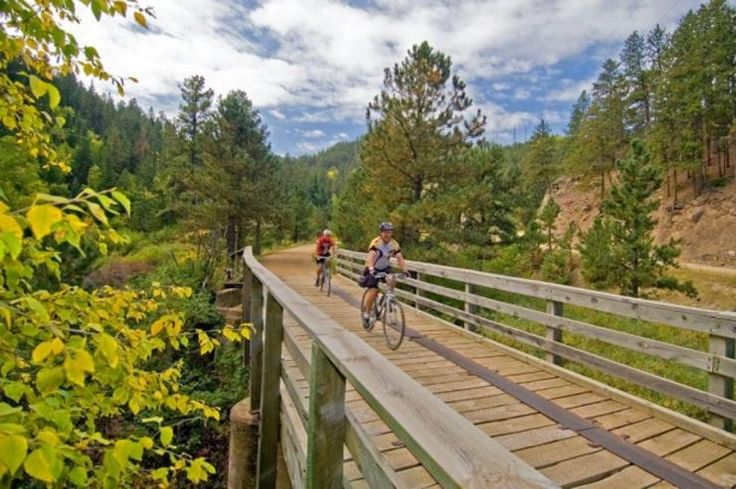 George S. Mickelson Trail, South Dakota http://www.bicycling.com/rides/travel/10-best-car-free-bike-paths-in-the-usa