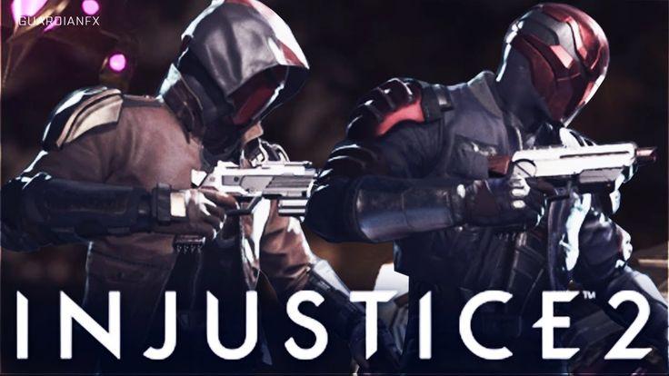 Injustice 2 - Red Hood Epic Gear Showcase [Randomized Gear]