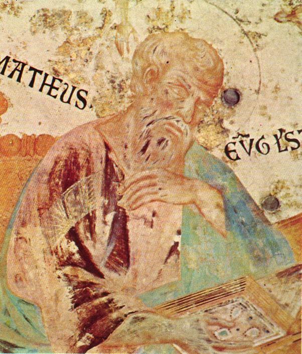 (Cenni Di Peppi) Cimabue-ST. MATHEW