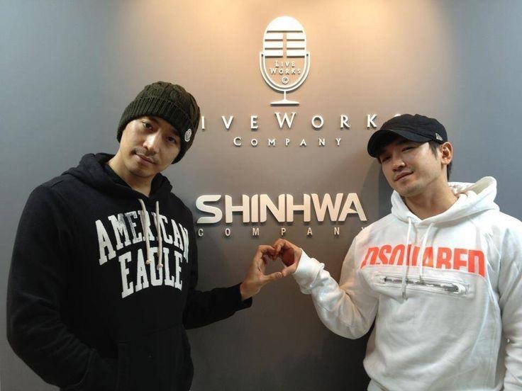 Eric and MinWoo RicMin the CEO couple of Shinhwa