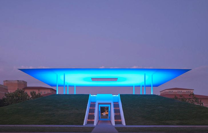 James Turrell -James Turrell´s Twilight Epiphany Skyspace (728 x 465) - inhabitat.com