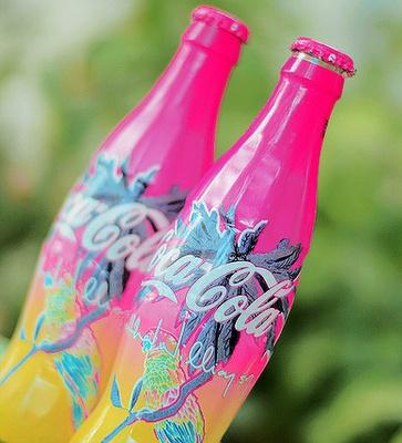 Colorful Coca Cola