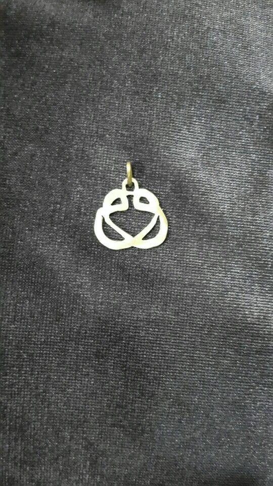 İlk kıl testere denemem.  - fret saw - brass jewelry -  brass necklace -#handmade #oyaca #oyalanmaca