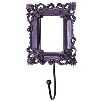 Cabideiro com Espelho (Roxo) - Presentes Criativos