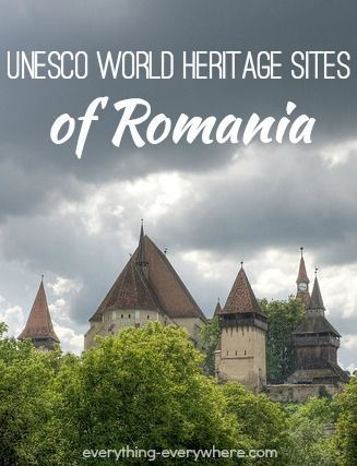 There are seven UNESCO World Heritage Sites in Romania. All but one of the sites are cultural. Danube Delta is a natural site.