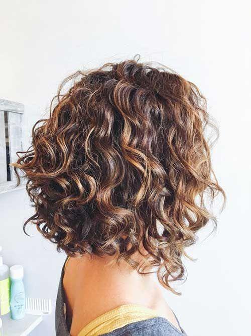 Naturally curly hairstyles and Bob haircuts