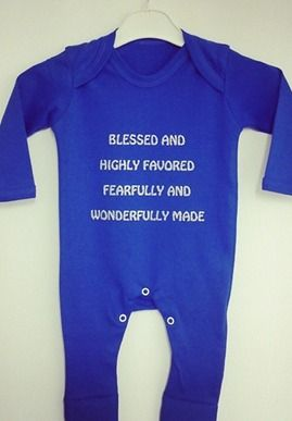 Born To Praise - Baby Grow