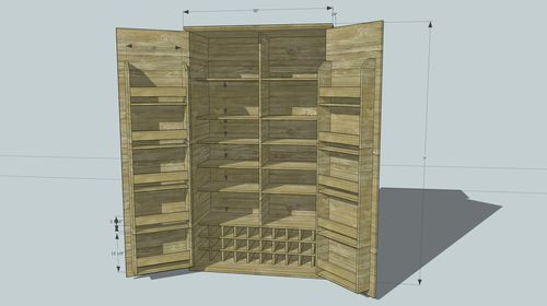 25 best ideas about stand alone pantry on pinterest for Stand alone garage