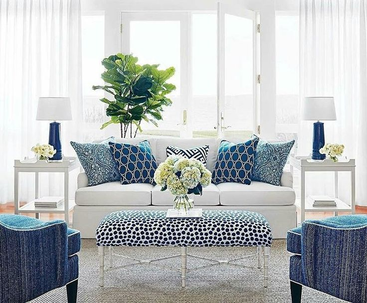 navy blue living room ideas. Natasha Kalita Design  new Calypso series is classic summer perfection Nothing beats blue and white Best 25 Navy living rooms ideas on Pinterest grey