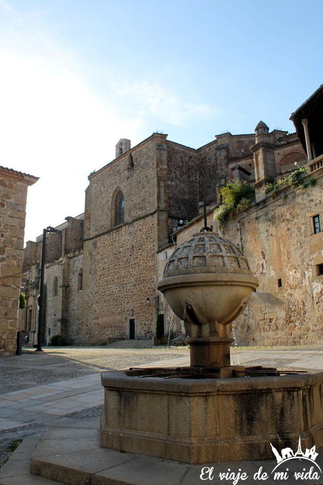 Plaza San Vicente Plasencia Extremadura España