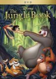 """Le livre de la jungle, La panthère Bagheera trouve dans la jungle un bébé abandonné qu'elle confie à une famille de loups. Pendant dix ans, le """"petit d'homme"""", appelé Mowgli, grandit paisiblement parmi ses frères louveteaux. Mais la jungle toute entière tremble devant le retour de Shere Khan, le tigre mangeur d'hommes...  Cote : DVD FIC DIS"""