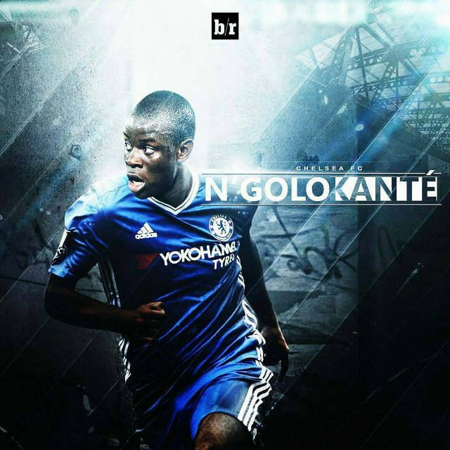 ​N'Golo Kante has signed a five-year contract with Chelsea