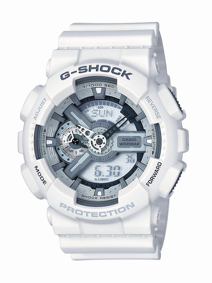 G-Shock GA110C-7A Watch - White