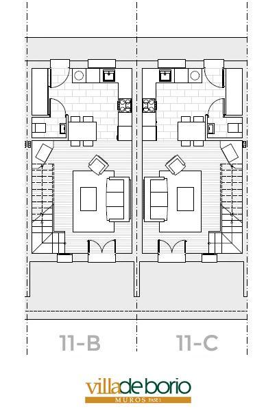 Planos de Superficie, Precios, Galería de imágenes - Residencial VillaMar - Famalor, Proyectos Urbanísticos Sostenibles :: Muros de Nalón, Principado de Asturias, venta de viviendas, chalets, Asturias