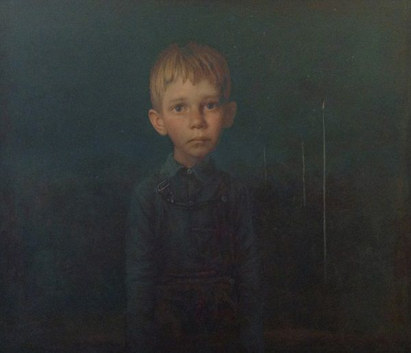 """""""Pathway Sign"""" by Igor Melnikov, 2013. // son las búsquedas por emular a través de retratos, estos brincos de las emociones humanas que viajan a través de una iconografía de la fragilidad. // arte contemporáneo, pintura, contemporary art, artwork, oil painting."""