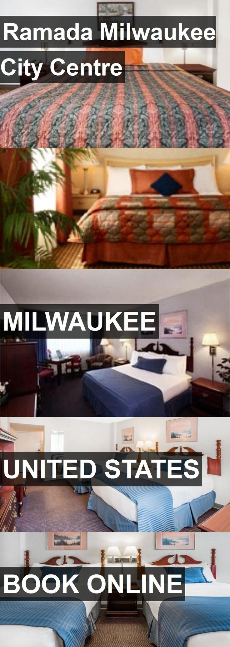 Hotel Ramada Milwaukee City Centre in Milwaukee, United States. For more information, photos, reviews and best prices please follow the link. #UnitedStates #Milwaukee #travel #vacation #hotel